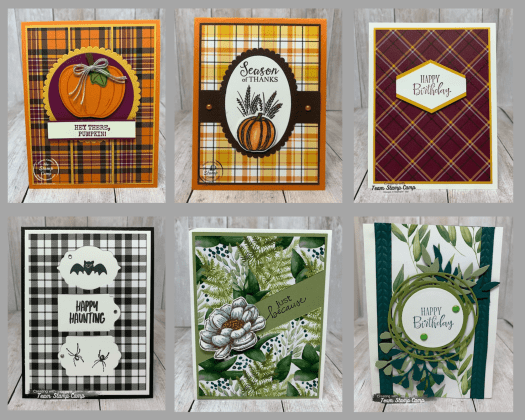 Designer Series Paper sale going on for the month of October 2020. During this sale you can get select Designer Series Paper packs at 15% off. See my blog here for the details: https://wp.me/p59VWq-bvs. #stampinup #designerpaper #thestampcamp