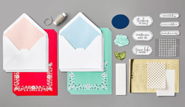 Kerchief Card Kit from Stampin' Up!