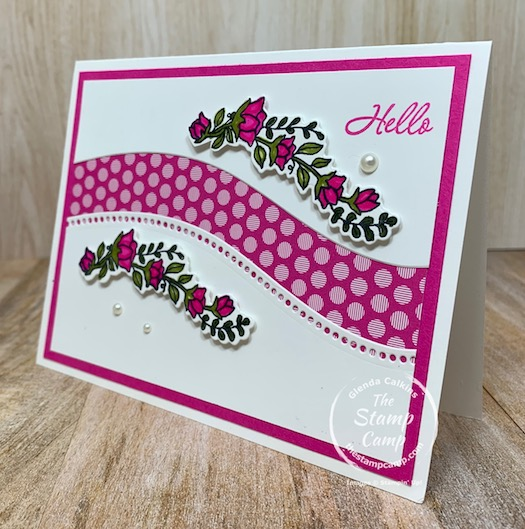 Make some beautiful curves with the Quite Curvy Bundle from Stampin' Up! This set is perfect for so many different occasions you will be surprised how many uses this stamp set/bundle has. #stampinup #thestampcamp #quitecurvy