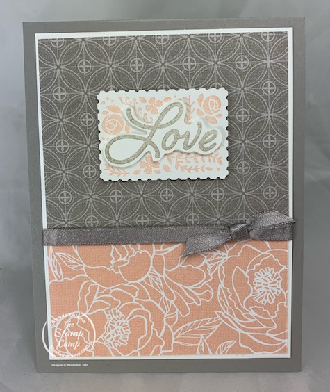 Love the Festive Post stamp set from Stampin' Up! and No it isn't just for Halloween or Christmas can you say Wedding or Valentine's Day or Anniversary? Yup, check it out! #thestampcamp #stampinup #festivepost