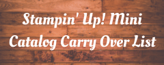 Shop for all your Stampin' Up! Products in my Online Store #stampinup #thestampcamp