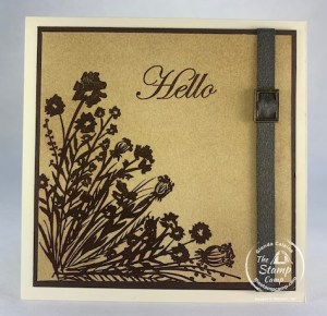 Corner Bouquet Free Stamp Set!