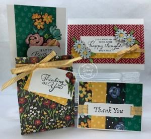 FREE Flower & Field Designer Series Paper Projects