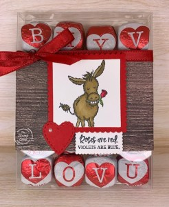 Make It Monday - Darling Donkeys Valentine