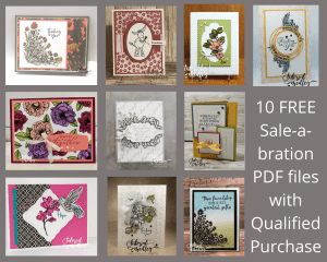 10 FREE Sale-a-bration PDF files with Qualified Order