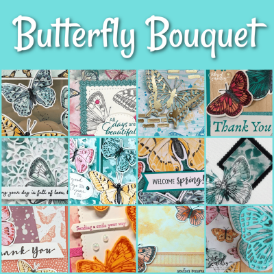 Do you want to get a jump start of a new bundle of products available in the upcoming 2021 - 2022 Stampin' up! Annual Catalog? Check out this gorgeous Butterfly Bouquet Bundle available NOW! #stampinup #thestampcamp #butterflies