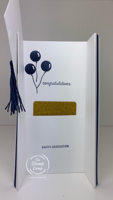 Graduation gifts complete with a graduation stole