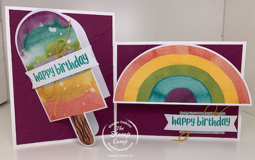 Stampin' Up! Paper Pumpkin Kit April 2021 Card kits