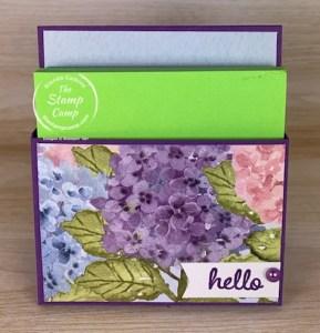 Make It Monday - Sticky Notepad Holder