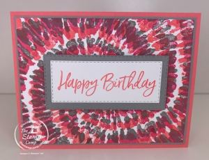 Try It Thursday - Features the Spiral Stamp From Stampin' Up!