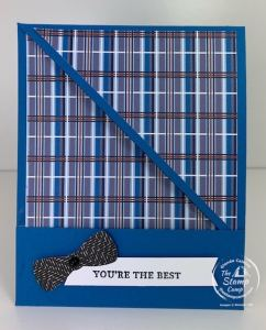 Handsomely Suited Bundle with Well Suited Paper - Friday Fun Fold
