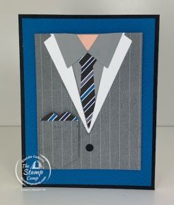 Handsomely Suited Bundle with Well Suited Stampin' Up! Papers for the Win!