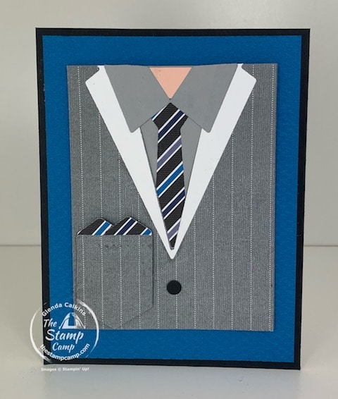 Handsomely Suited Bundle Well Suited Stampin Up