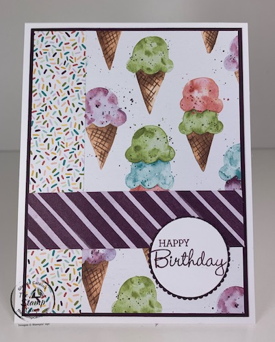 Sweet Ice Cream Bundle from Stampin' Up!