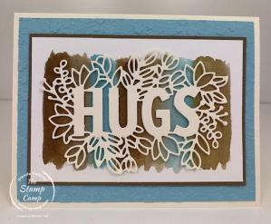 Watercolor Wash With The Sending Hugs Bundle 2021!