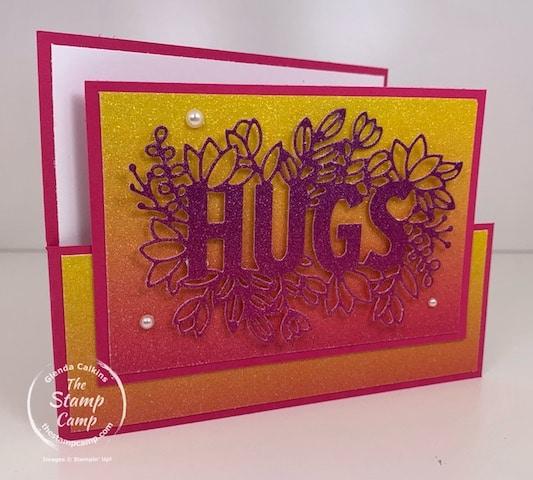 Rainbow Glimmer Paper 2021 Sending Hugs Bundle