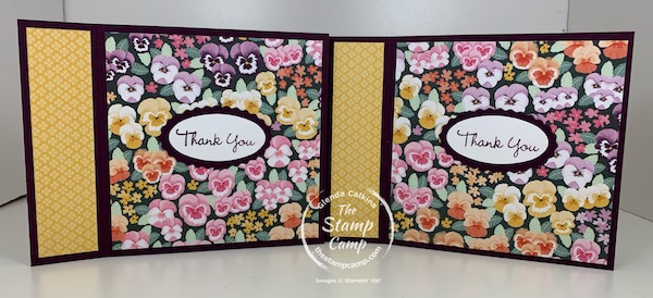 Pansy Patch Bundle and Pansy Petal Designer Series Paper
