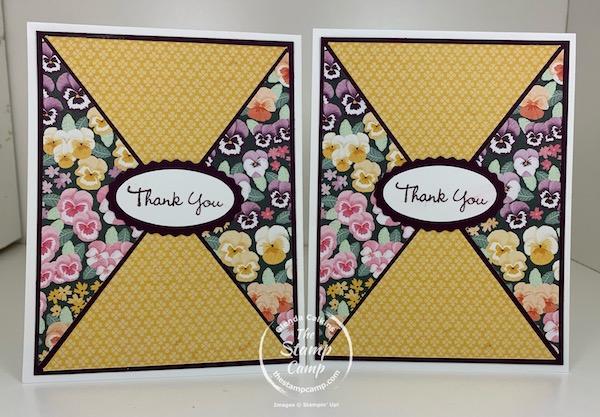 Pansy Patch Bundle & Pansy Petals Designer Series Paper