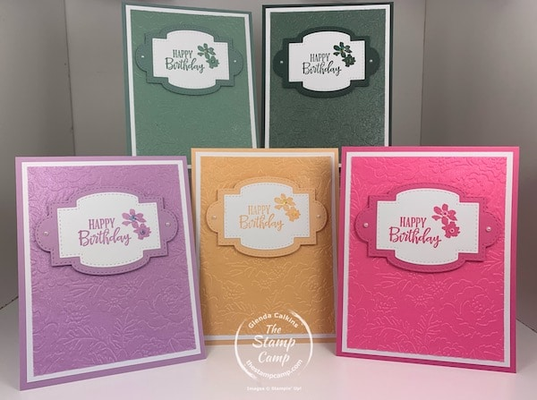 stampin' up in colors 2021
