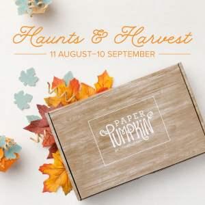 September Haunts & Harvest Paper Pumpkin Kit Stampin' Up!
