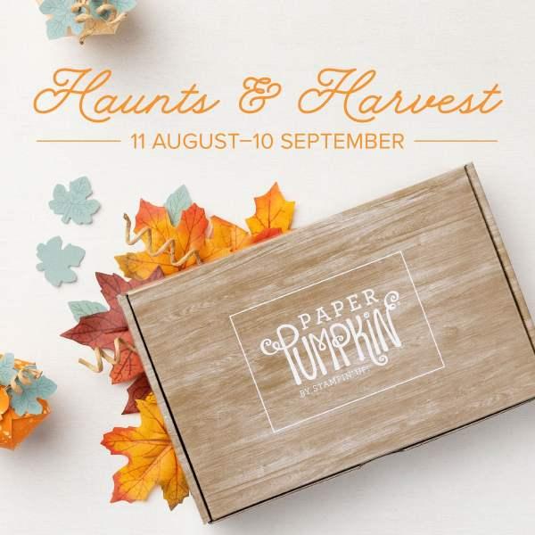 Paper Pumpkin Kit Stampin Up