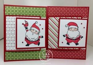 Be Jolly Santa Fun Fold Cards To Make For Christmas!