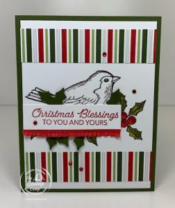 Another Stampin' Up! Catalog Case Happy Holly Days
