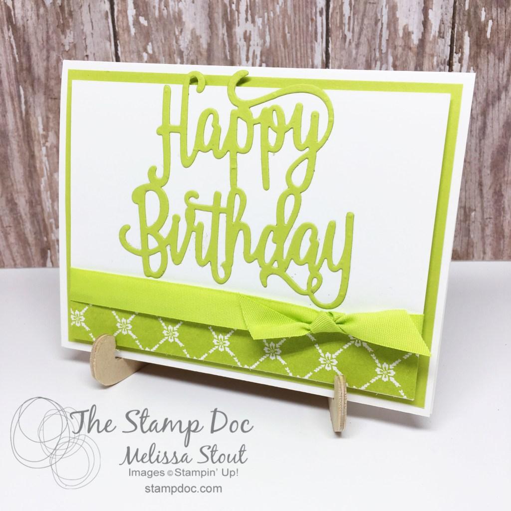 Lemon Lime Twist In Color Card