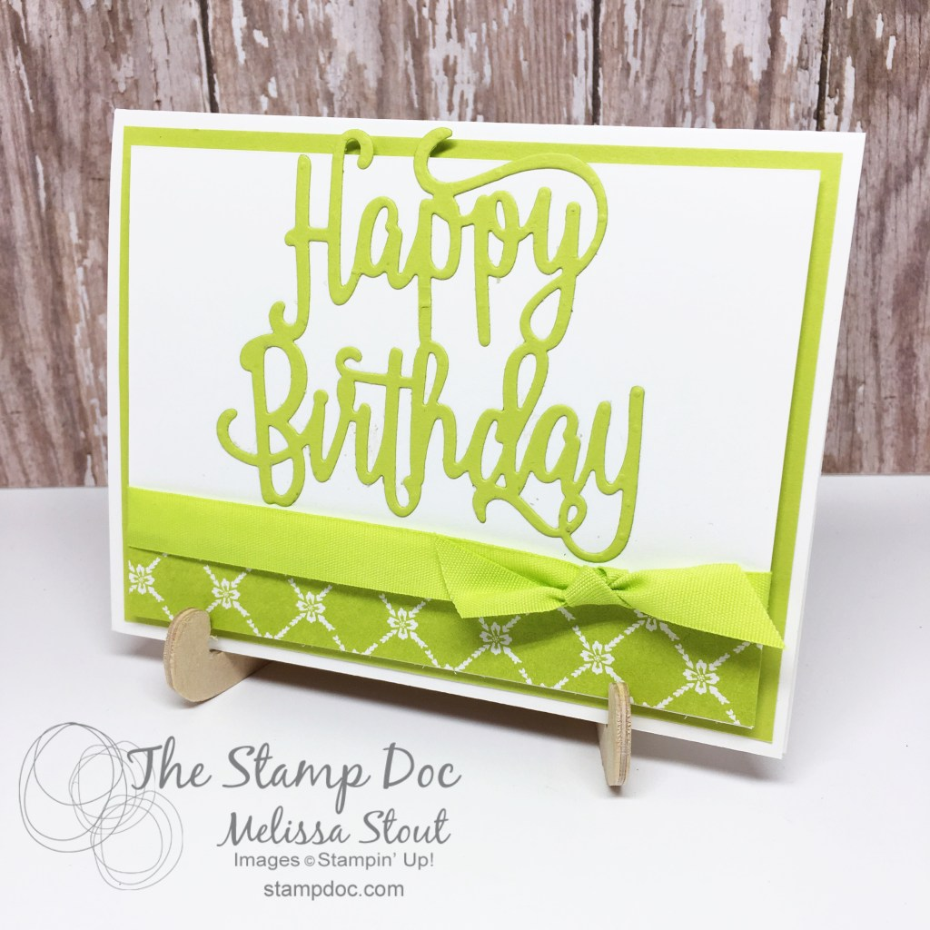 Lemon Lime Twist In Color Card