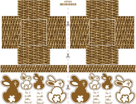 CBT002-Easter-Basket-Brown-Bunnies