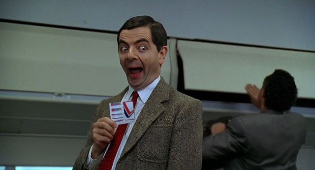 Mr Bean, anther example of weird British humour.