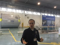 Hervé explains his job training astronauts to work in Zero-G and conduct EVAs