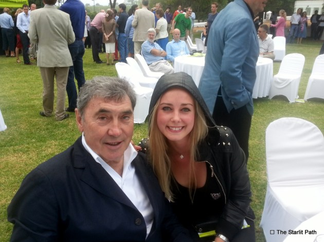 Eddy Merckx, pro-cycling legend, 5-time winner of Tour de France