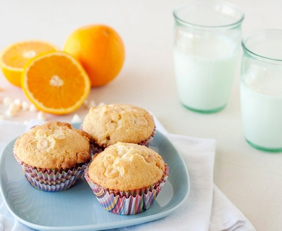 Orange Muffins Are What's Up!