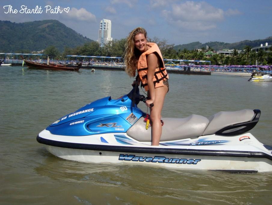 Thailand Phuket Jetskii
