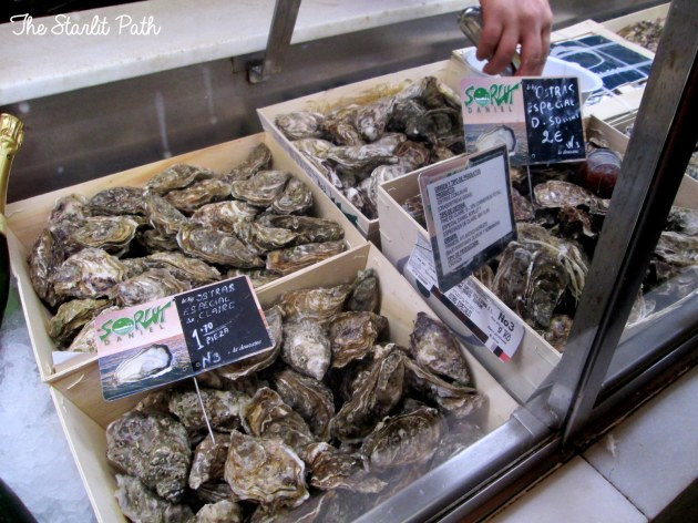 Mercado De San Miguel Madrid Oysters