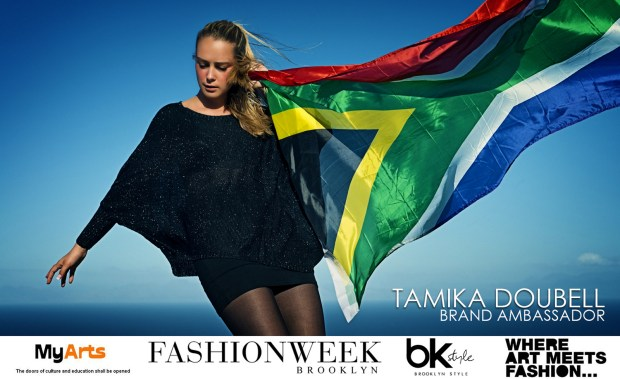 Tamika Doubell SA Ambassador Brooklyn Fashion Week