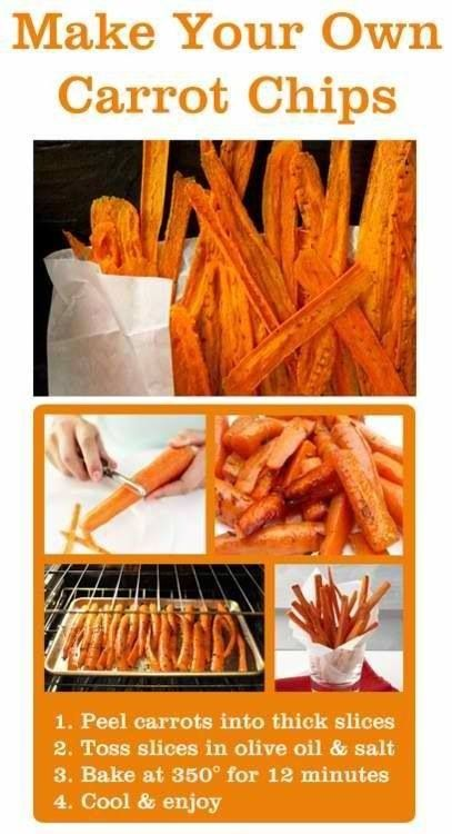 snacks carrot sticks