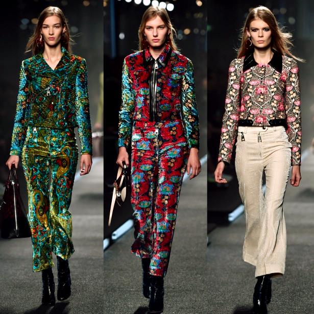 1970's Fashion Trend SS15, Louis Vuitton, Paris Fashion Week