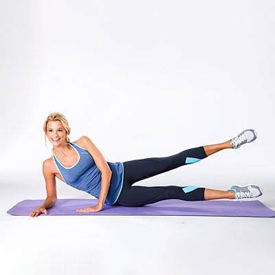 How To Tone Your Bum + Hips at Home