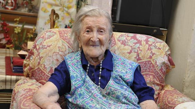 Emma Morano Martinuzzi, 115 years old.  Born 1899