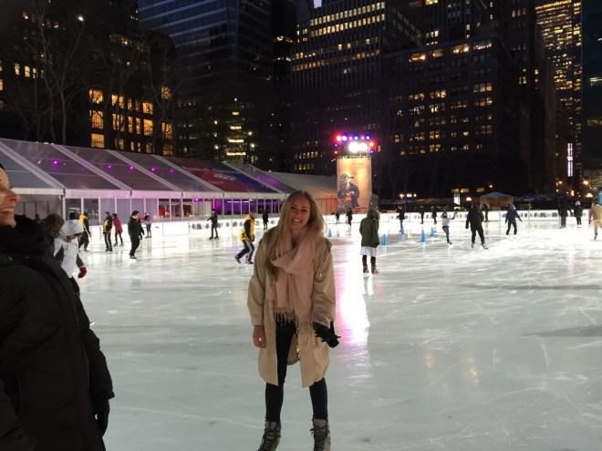 Ice Rink in Bryant Park