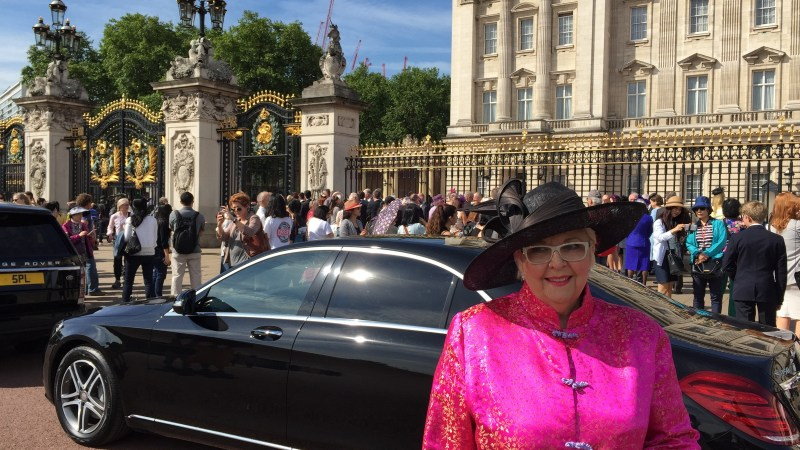 Royal Investiture Honouring South African Community Worker