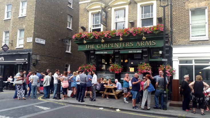 Carpenter's Arms London