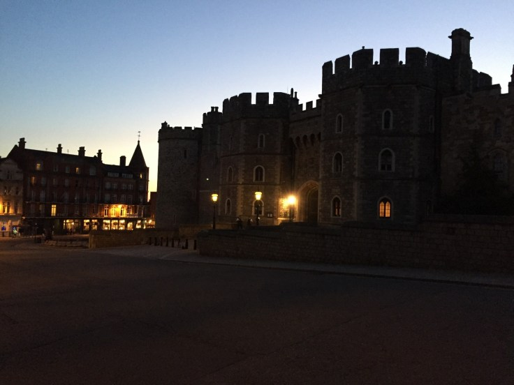 The Beautiful View From The Hotel Overlooks The Windsor Castle