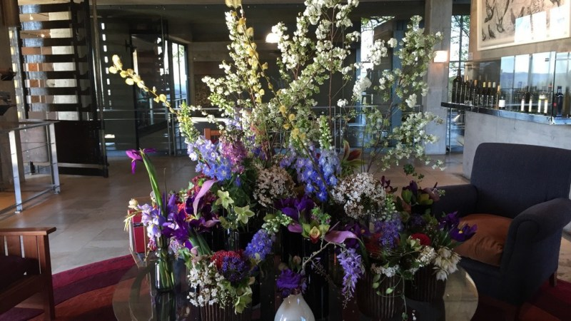 Flower Arrangement at Tokara Wine Farm