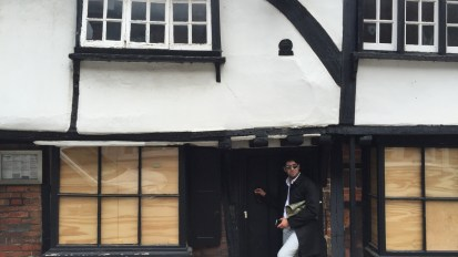 Walking a 15th century high street in Eton