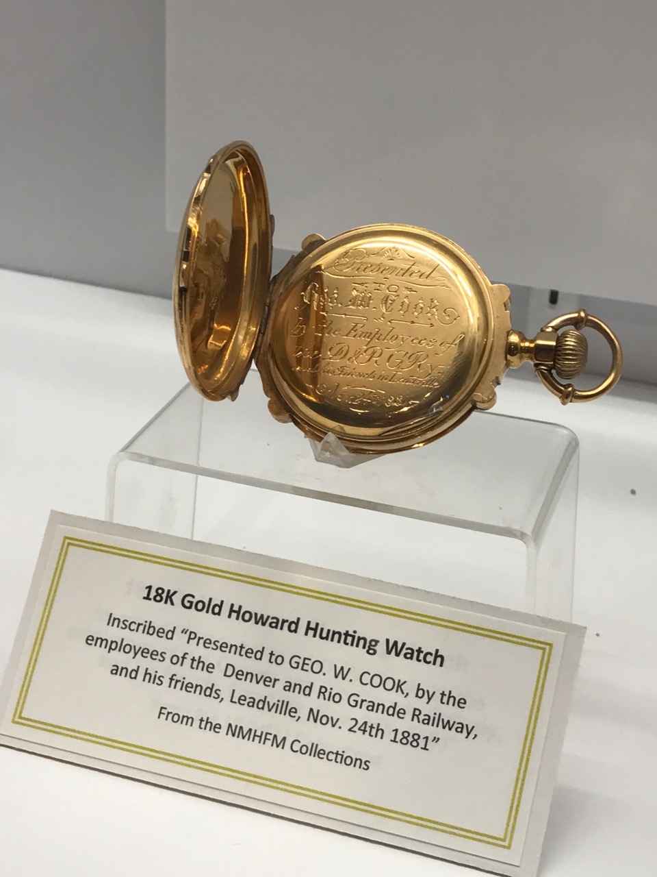 18K Gold Howard Hunting Watch