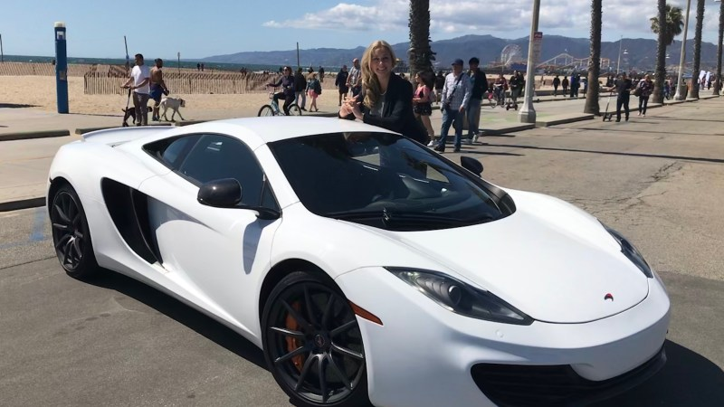 McLaren in Beverly Hills