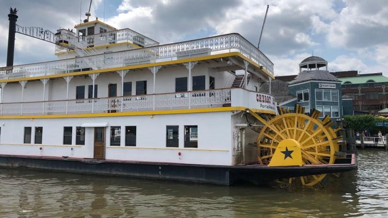 A Quaint Ferry to Alexandria!